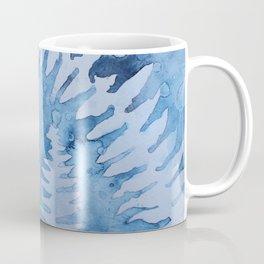 Blue ferns Coffee Mug