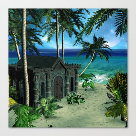 The  forgotten island Canvas Print
