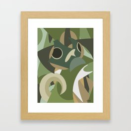 Shapes of Bruce Framed Art Print