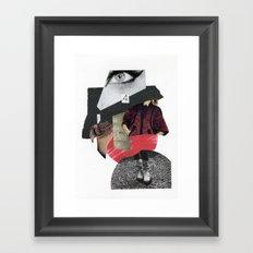 four eyes Framed Art Print