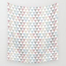 Geometric Pattern Wanderlust Pastel Wall Tapestry