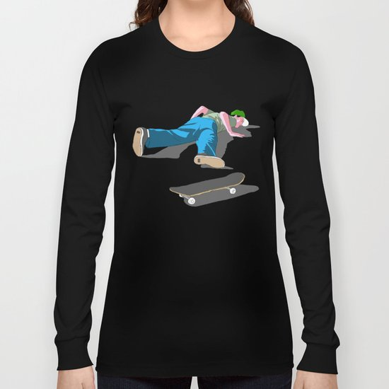skateboarding Long Sleeve T-shirt