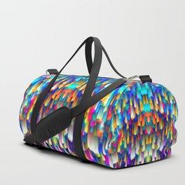 Colorful digital art splashing G390 Duffle Bag