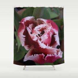 Fringed Tulip Shower Curtain