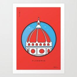 Florence Duomo Art Print