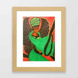 JAMACIAN PRINCESS Framed Art Print