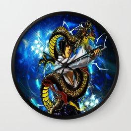 the dragon uciha Wall Clock