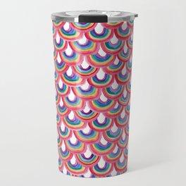 Rainbow Scallop Travel Mug