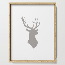 Proud Stag Serving Tray