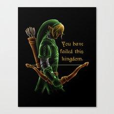 The Green Hookshot Canvas Print