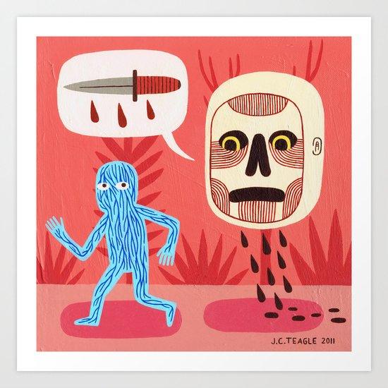 Nightmare Art Print