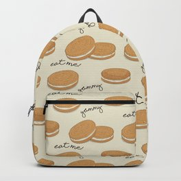 Brown cookies Backpack