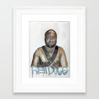 youtube Framed Art Prints featuring YouTube Sensation by Reh Dogg Gallery