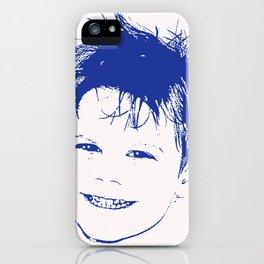 Happy Lad iPhone Case