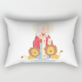 S Ignatius of Antioch Rectangular Pillow