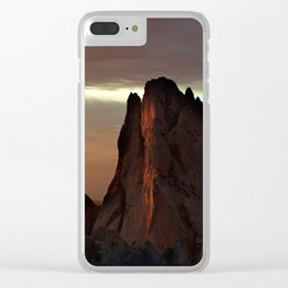 Sunrise at Garden of the Gods Clear iPhone Case
