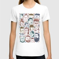 faces T-shirts featuring Faces by Lawerta