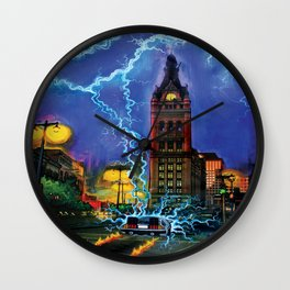 Back to the Future, MKE style. Wall Clock