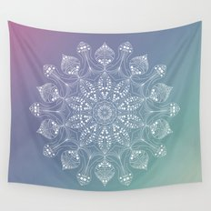 Jellyfish mandala Wall Tapestry