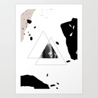 THE ZONE Art Print