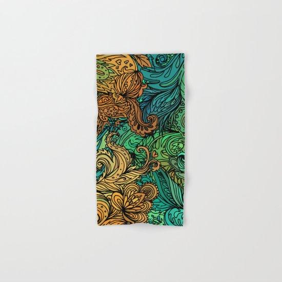 Indian Pattern 02 Hand & Bath Towel