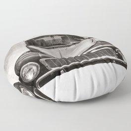 Vintage Automobile  Floor Pillow