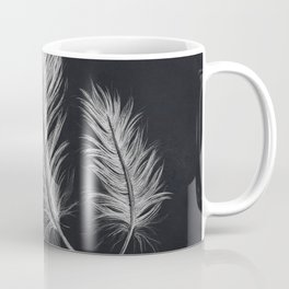 Chalk feather collection Coffee Mug