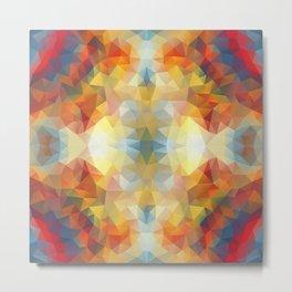 Colorful mozaic design Metal Print