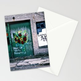 """""""shut up. you're beautiful."""" Stationery Cards"""