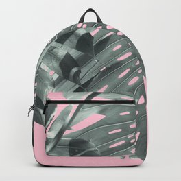 Monstera Finesse #1 #tropical #decor #art #society6 Backpack