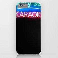 fancy fun karaoke iPhone 6s Slim Case