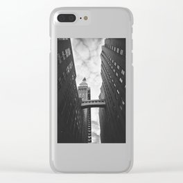 New York Clock Tower Clear iPhone Case