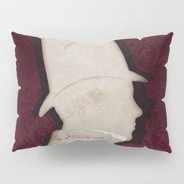 Robert Louis Stevenson, Dr. Jekyll and Mr. Hyde - Minimalist Literary Design Pillow Sham