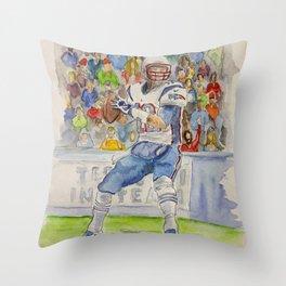 Tom Brady - QB New England Throw Pillow