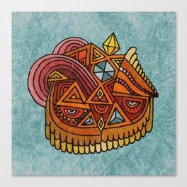 The Crystal Owl Canvas Print