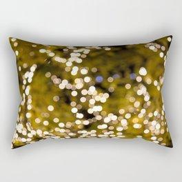 Glimmering bokeh Rectangular Pillow