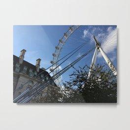 London's Watchful Eye - Color Version Metal Print