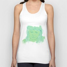 Alessi's Ark, another portrait I made, for purchasing here Unisex Tank Top