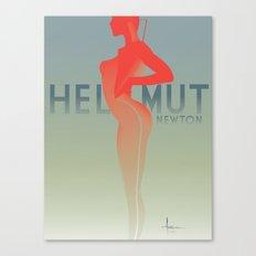 HOMAGEtoFASHION_ Helmut Newton Canvas Print