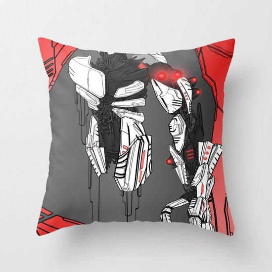 ULTRACRASH 1 Throw Pillow