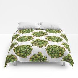 Succulent Pattern Comforters