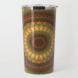 Earth Mandala 6 Travel Mug