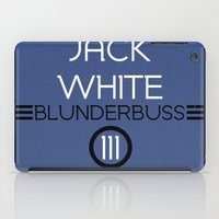 jack white iPad Cases featuring Jack White by Tanner Wheat