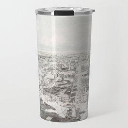 Vintage Pictorial Map of Buffalo NY (1853) Travel Mug