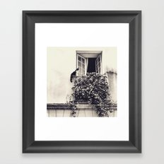 Paris Cat Framed Art Print