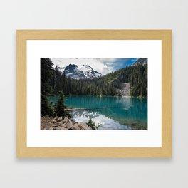 Joffre Lakes, Pemberton BC, Canada Framed Art Print