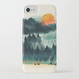 Wilderness Camp iPhone Case