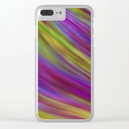 Abstract 2 TR Clear iPhone Case