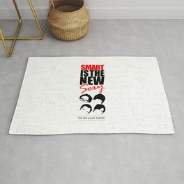 Lab No. 4 - Smart Is The New Sexy Inspirational Quotes Poster Rug