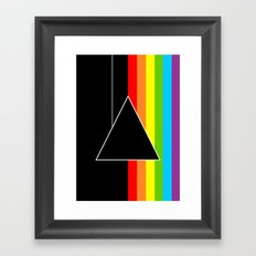 Tribute Pink Floyd | Dark Side Of The Moon Framed Art Print